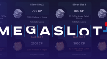 Nawet 40 bonusów w kasynie Megaslot
